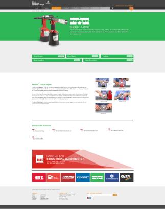 Brand Page - Marson