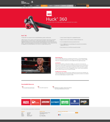 Product Page - Huck